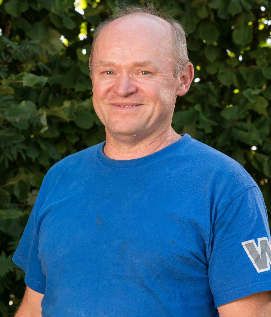 Edwin Schwarz - über 25 Jahre bei uns beschäftigt