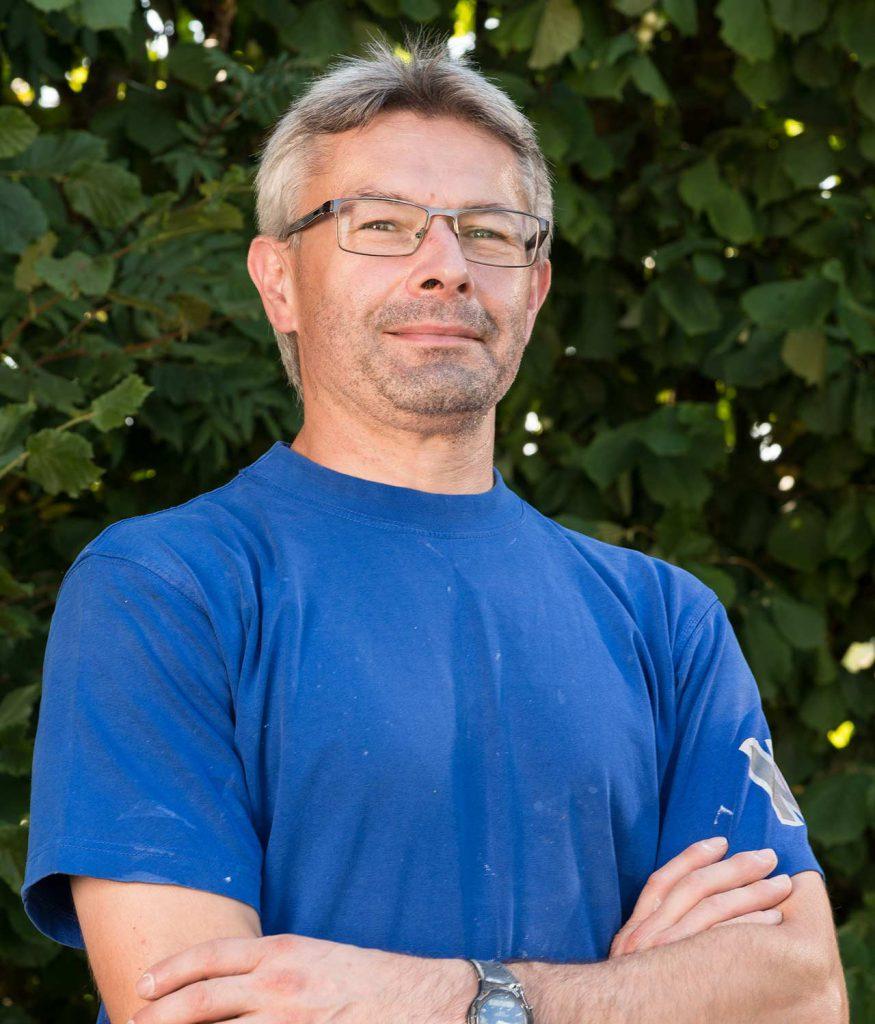 Holger Hempfling - über 30 Jahre bei uns beschäftigt