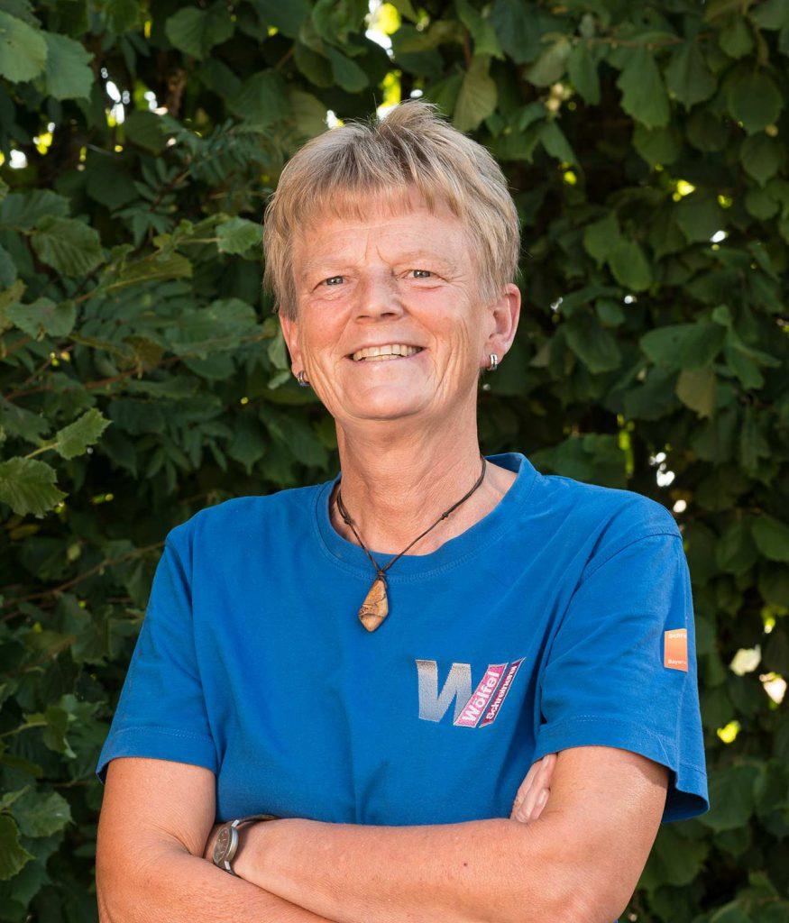 Liselotte Wachtel - über 20 Jahre bei uns beschäftigt