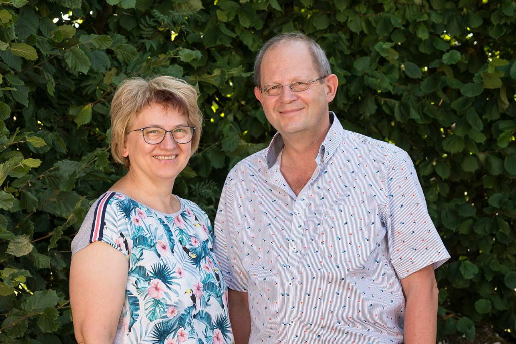 Monika und Erwin Wölfel