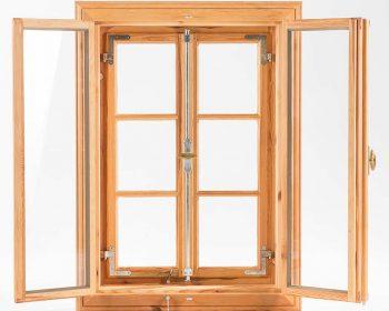 Kastenfenster mit profilierten Flügel, Innenansicht
